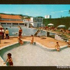 Postales: SAN HILARIO SACALM (GIRONA) PISCINA VILLARET - CIRCULADA - ED. BOSCH - CATALUNYA SANT HILARI. Lote 155980350