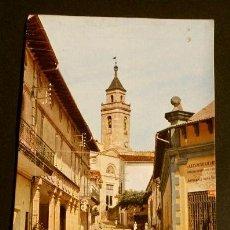 Postales: SAN HILARIO SACALM (GIRONA) CALLE PUEBLO - CIRCULADA - ED. SOBERANAS - CATALUNYA SANT HILARI. Lote 155980850