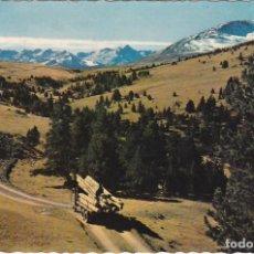 Postales: PIRINEOS DE LERIDA, EL VALLE DE ARAN, PLA DE BERET. Lote 155993966