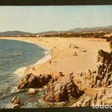 Postales: PLAYA DE ARO (GIRONA) VISTA GENERAL - CIRCULADA - ED. CAMPAÑA - PLATJA D'ARO -COSTA BRAVA (AÑOS 60). Lote 156004406