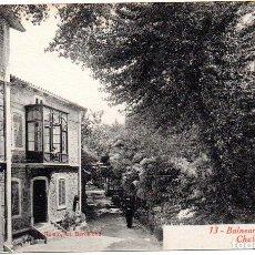 Postales: PS8163 BALNEARIO DE VALLFOGONA 'CHALET DEL JARDÍN'. L. ROISIN. SIN CIRCULAR. PRINC. S. XX. Lote 156067746