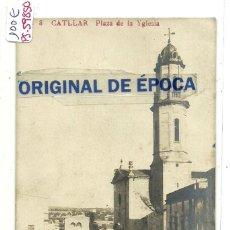Postales: (PS-59850)POSTAL FOTOGRAFICA DE CATLLAR-PLAZA DE LA IGLESIA. Lote 156167830