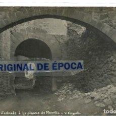 Postales: (PS-59851)POSTAL FOTOGRAFICA DE MONELLS-CARRER D´ENTRADA A LA PLASSA.V.FARGNOLI. Lote 156168338
