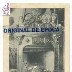 Postales: (PS-59858)POSTAL DE LERIDA-CLUB-CHOP-BOT.CHIMENEA DEL SALON. Lote 156171546