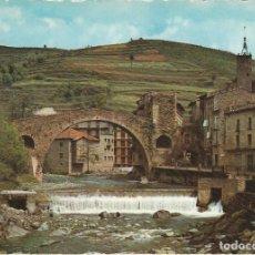 Postales: CAMPRODON, PUENTE ROMANO SOBRE EL TER, GERONA. Lote 156559986
