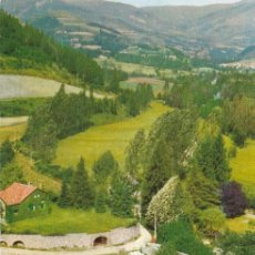 Postales: CAMPRODON, VISTA DESDE EL CASTILLO DE SAN NICOLAS, GERONA. Lote 156560098