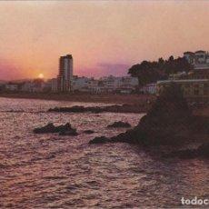 Postales: LLORET DE MAR,COSTA BRAVA, ATARDECER, GERONA. Lote 156560150