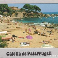 Postales: CALELLA DE PALAFRUGELL, COSTA BRAVA, PLATJA DE EL CANADELL, GERONA. Lote 156560354