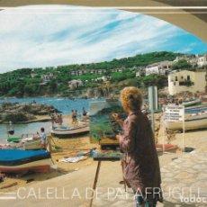 Postales: COSTA BRAVA, CALELLA DE PALAFRUGELL, PORT BO, GERONA. Lote 156560402