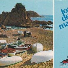 Postales: TOSSA DE MAR, COSTA BRAVA, RINCON MAR MENUDA, GERONA. Lote 156560482