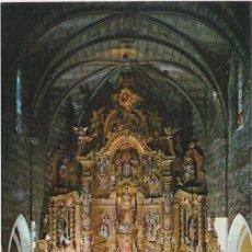Postales: COSTA BRAVA, IGLESIA DE CADAQUES, RETABLO DEL ALTAR MAYOR, GERONA. Lote 156560534