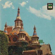 Postales: LLORET DE MAR, COSTA BRAVA, IGLESIA PARROQUIAL, GERONA. Lote 156560610