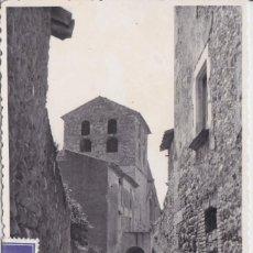 Postales: CRESPIA (GERONA) - CALLE. Lote 156572302