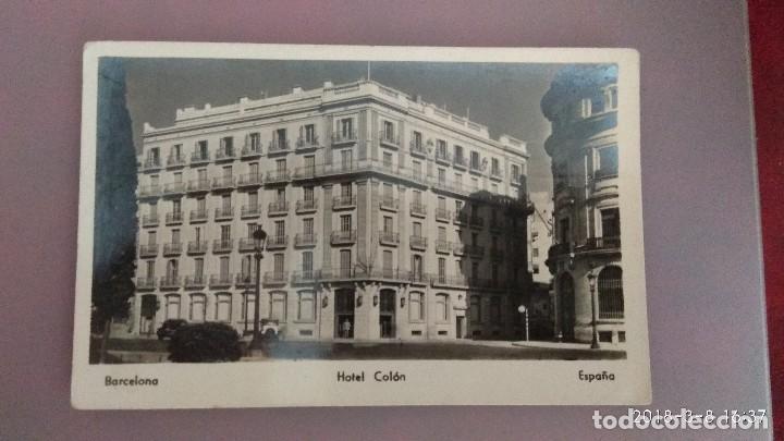 POSTAL BARCELONA. HOTEL COLÓN (Postales - España - Cataluña Antigua (hasta 1939))