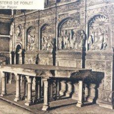 Postales - ANTIGUA POSTAL MONASTERIO DE POBLET - 156816568