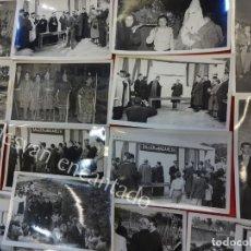 Postales: LOTE 16 POSTALES FOTOGRÁFICAS TALLERES DE NAZARETH. BARCELONA. PROCESIONES. AÑOS 1950S. Lote 156995098