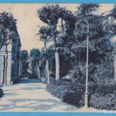 Cartes Postales: 12. CALDETAS - JARDINES ESTACIÓN. ROISIN. CIRCULADA EN 1928. Lote 157017822