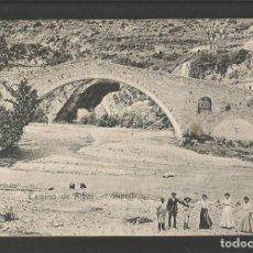 Postales: RIPOLL-CAMINO DE RIBAS-PUENTE-J.M.-POSTAL ANTIGUA-(58.053). Lote 157124266