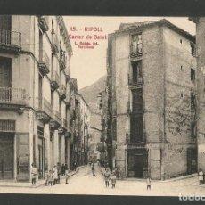 Postales: RIPOLL-CARRER DE BATET-15-ROISIN-POSTAL ANTIGUA-(58.054). Lote 157124346