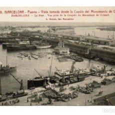 Postales: ANTIGUA POSTAL DE BARCELONA - PUERTO - 10 L. ROISIN. Lote 157765650