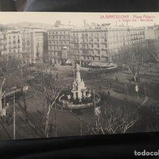 Postales: BARCELONA PLAZA PALACIO. Lote 158090029