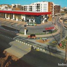 Postales: LLORET DE MAR, ESTACION TERMINAL DE AUTOBUSES, GERONA. Lote 158529522