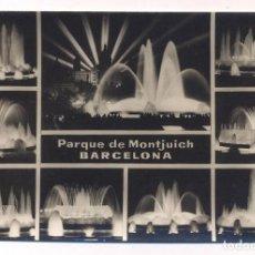 Postales: P2073.- BARCELONA.- VISTAS.- PARQUE DE MONTJUICH. Lote 158551278