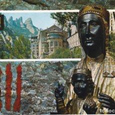 Postales: MONTSERRAT, LA VERGE DE MONTSERRAT, BARCELONA. Lote 158585878