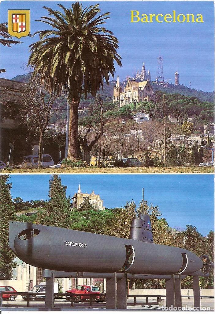 POSTAL ESCUDO DE ORO DE BARCELONA (Postales - España - Cataluña Antigua (hasta 1939))