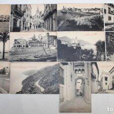 Postales: COLECCIÓN DE 12 POSTALES CON VISTAS DE SITGES. L. ROISIN DE PRINCIPIOS DEL SIGLO XX. Lote 158799030