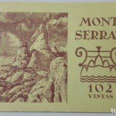 Postales: BLOQUE 102 VISTAS, MONTSERRAT, EDITORIAL RIEUSSET. MEDIDAS 19 X 14 CM. Lote 159068162