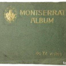 Postales: ALBUM 72 VISTAS, MONTSERRAT. MEDIDAS 18 X 13,5 CM. Lote 159068678