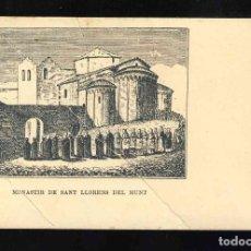 Postales: POSTAL DE MATADEPERA: MONESTIR DE SANT LLORENÇ DEL MUNT. Lote 159366234