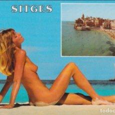 Postales: SITGES, VISTA PARCIAL - ESCUDO DE ORO Nº70 - S/C. Lote 159412758
