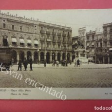 Postales: REUS. PLAZA DE PRIM. Lote 159499262