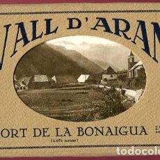 Postales: LLEIDA VALL D' ARAN I PORT DE LA BONAIGUA ALBUM CON 16 POSTALES ED. FOT SILVIO GORDÓ . Lote 160026326