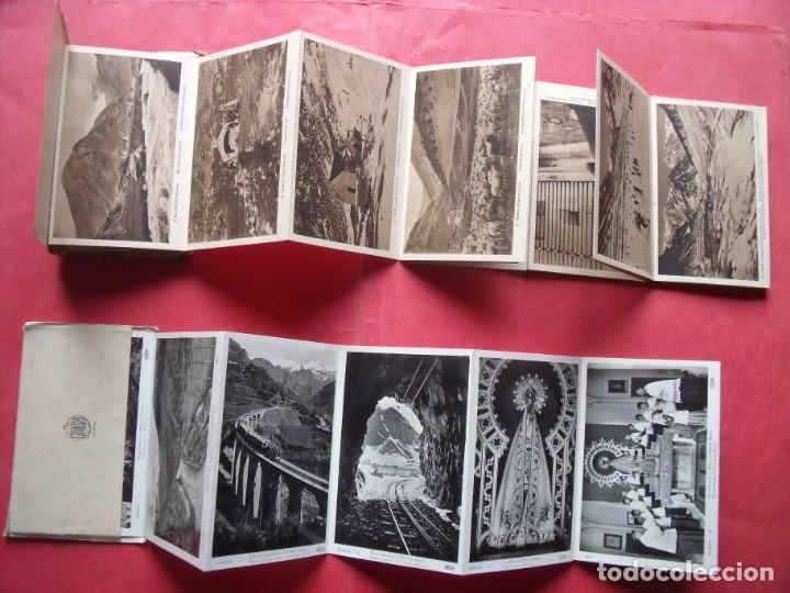 Postales: NURIA.-GERONA.-L. ROISIN.-RECORD DEL SANTUARI DE LA MARE DE DEU DE NURIA.-GUILERA.-BLOC DE POSTALES. - Foto 2 - 160563742