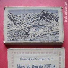 Postales: NURIA.-GERONA.-L. ROISIN.-RECORD DEL SANTUARI DE LA MARE DE DEU DE NURIA.-GUILERA.-BLOC DE POSTALES.. Lote 160563742