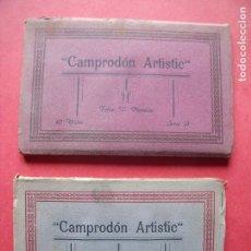 Postales: CAMPRODON.-V. PLANESAS.-FOTOS.-CAMPRODON ARTISTIC.-BLOC DE POSTALES.-RIPOLLES.-GERONA.-POSTALES.. Lote 160564306