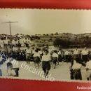 Postales: SALOMO (TARRAGONA). FOTO TAMAÑO POSTAL FECHADA 22 JUNIO 1953. FESTEJO POPULAR. Lote 160667190