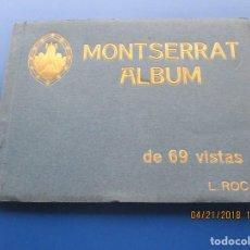 Postales: MONTSERRAT ALBUM DE 69 VISTAS - FOTOGRAFO L. ROCA - L.O.G.D. - (NUENA CONSERVACION). Lote 160719422