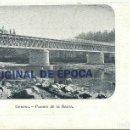 Postales: (PS-60146)POSTAL DE GERONA-PUENTE DE LA BARCA.A.MAURI. Lote 160845550