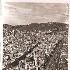 Postales - PASEO GRACIA - TIBIDABO - 4 - BARCELONA DESDE EL AIRE- ZERKOWITZ - 160867482