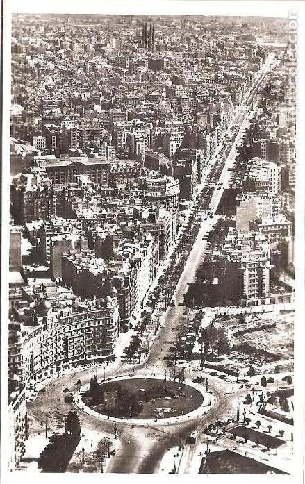 CALVO SOTELO - AV GENERALISIMO - 6 - BARCELONA DESDE EL AIRE- ZERKOWITZ (Postales - España - Cataluña Moderna (desde 1940))