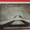 Postales: EXPOSICION INTERNACIONAL DE BARCELONA 1929. ASPECTO NOCTURNO DEL JARDÍN DE AGUA LUMINOSO. Lote 161005866