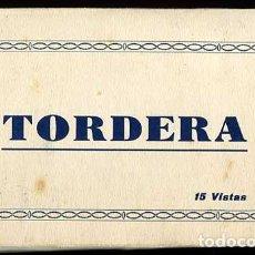 Postales: BARCELONA TORDERA BLOC COMPLETO CON 15 POSTALES. L. ROISIN. Lote 161018758