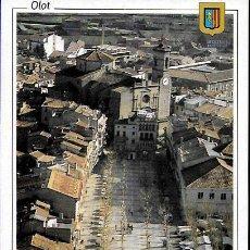 Postais: POSTAL * OLOT , VISTA AÈRIA PARROQUIA SANT ESTEVE * 1992. Lote 263613665