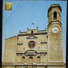 Postales: POSTAL * OLOT , PARROQUIA SANT ESTEVE * 1966. Lote 296778323