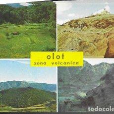 Postales: POSTAL * OLOT , VOLCÀ MONTSACOPA * 1975. Lote 296778603