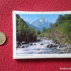 Postales: BLOC ACORDEÓN TACO TIRA DE IMÁGENES FOTOS FOTOGRAFÍAS VALL VALLE ARÁN VALL D´ARAN LLEIDA SEAT 600 VE. Lote 161204030